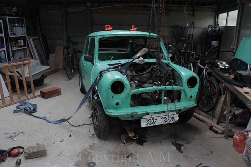 Restauration d'une Austin de 1980 634499IMG3260