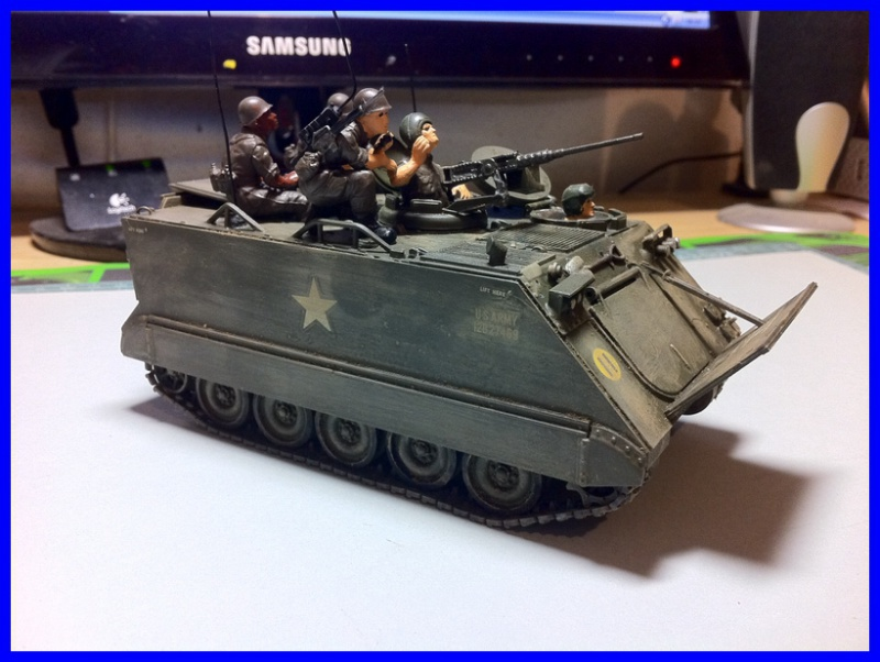 M 113 US ARMOURED PERSONNEL CARRIER 1/35 TAMIYA 634801photo2800x600