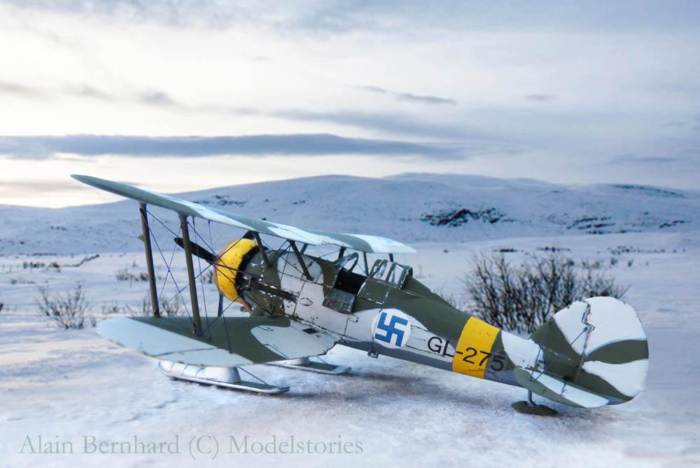 [Airfix] Gloster Gladiator J-8 Finlandais. 635013Glad30