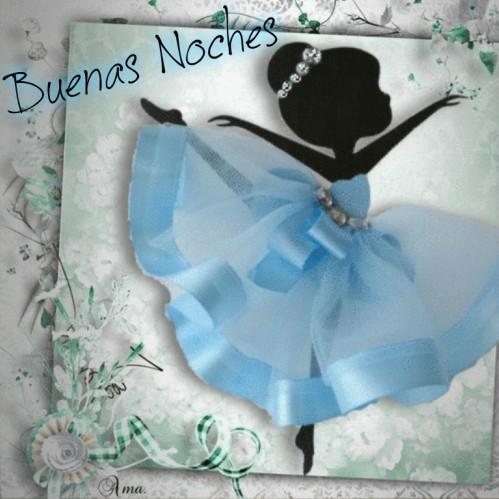 Bailarina con Tutú Celeste  636109noches