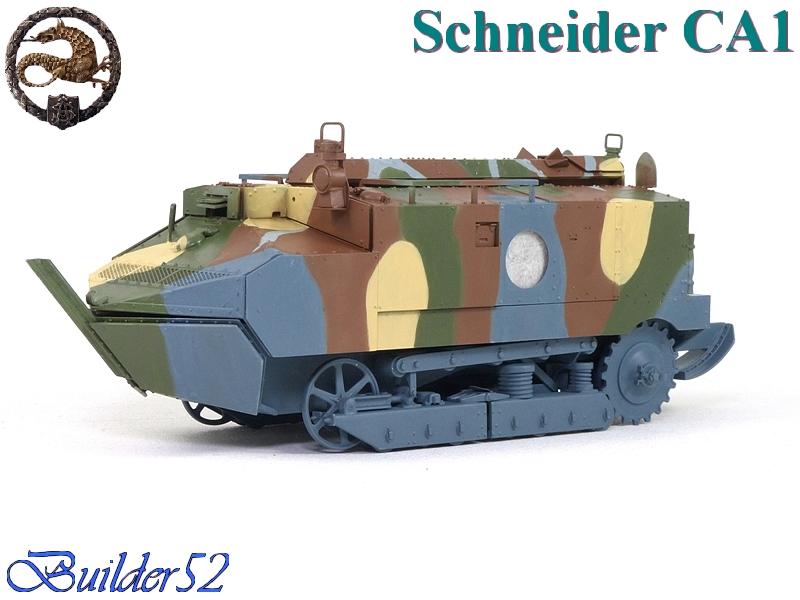 CHAR SCHNEIDER CA 1 - HOBBY BOSS 1/35 636646P1040948