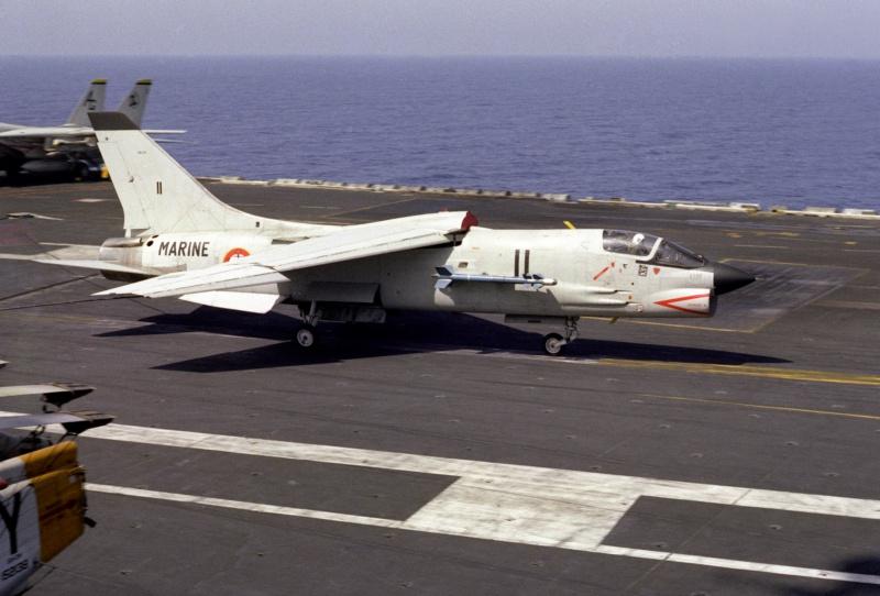 VOUGHT F-8 CRUSADER  638294VoughtF8EFNUSSEisenhowerCVN691983