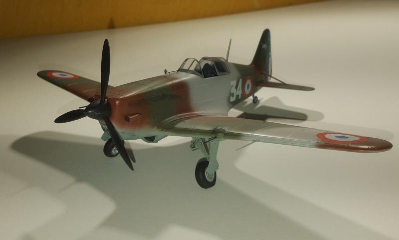 Morane Saulnier MS 406 - 1/48eme AZ Models  - Page 2 63867420160201205707
