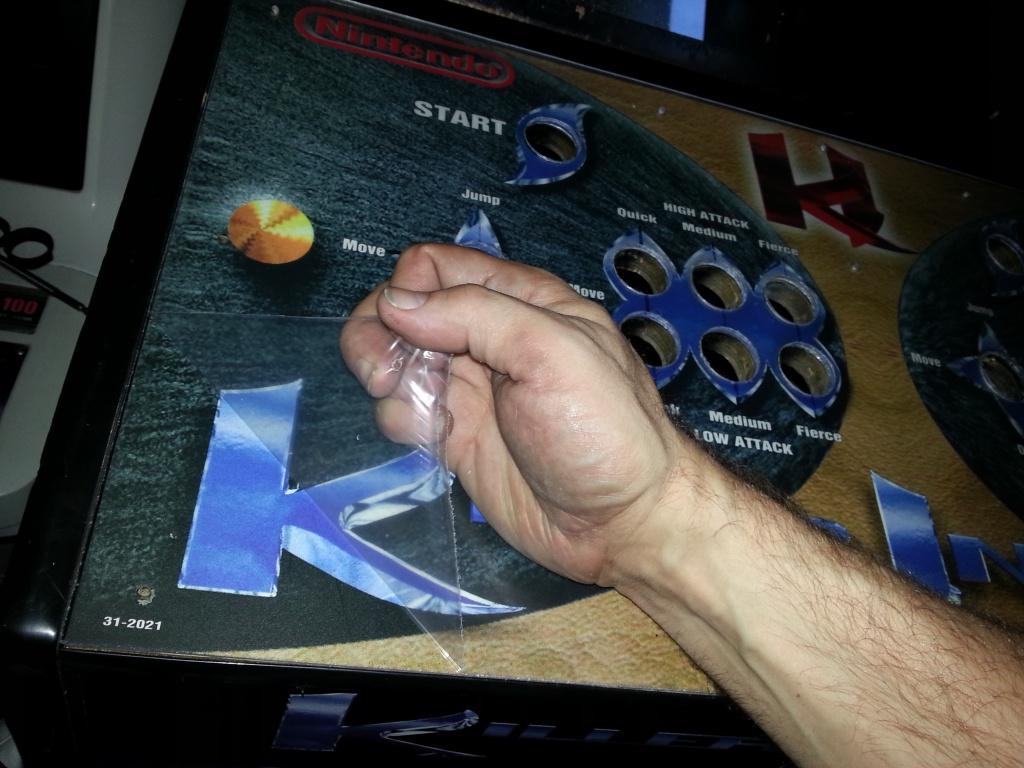 Fabrication d'une plaque de plexiglas pour panel de borne Killer Instinct 63941220130903164148