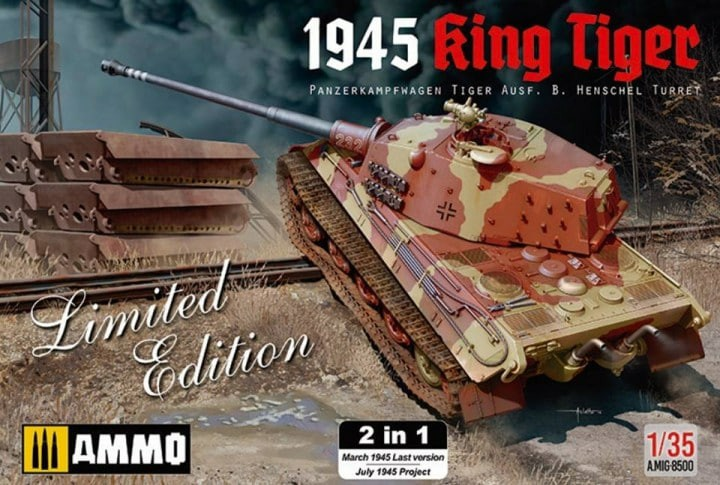 "King Tiger Ammo ""What If"" 639534KTIgerAmmo"