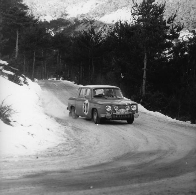 Renault engage quatre Renault 8 Gordini au Rallye Monte-Carlo Historique 2017 6411015362516