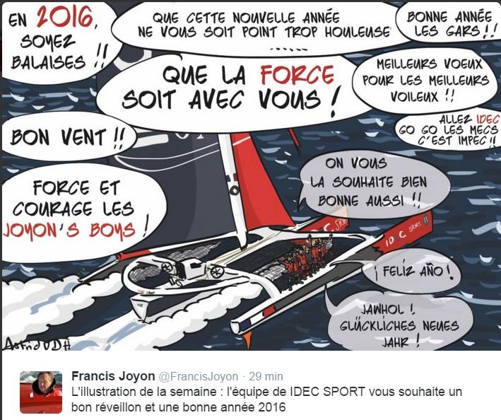 Francis Joyon autour  du monde ........en équipage - Page 7 645171ScreenHunter1046Dec311343