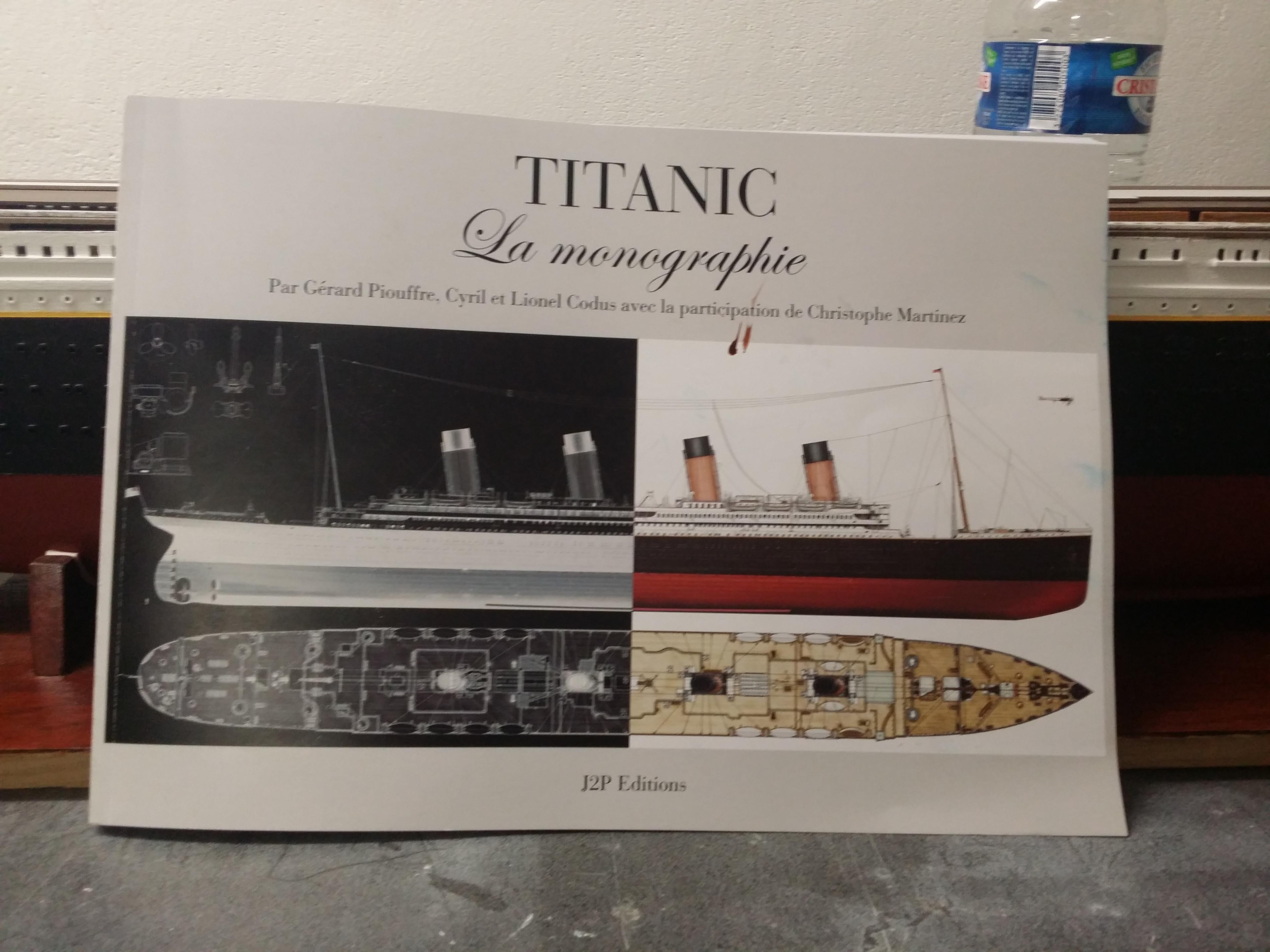 RMS Titanic sur plan   au 1/200 - Page 2 64598738a
