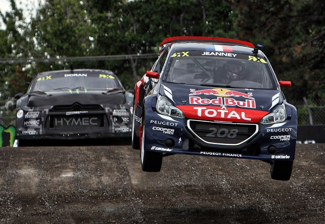 Rallycross : La PEUGEOT 208 WRX et le Team Peugeot Hansen triomphent au Canada ! 64605255c5b62342a07