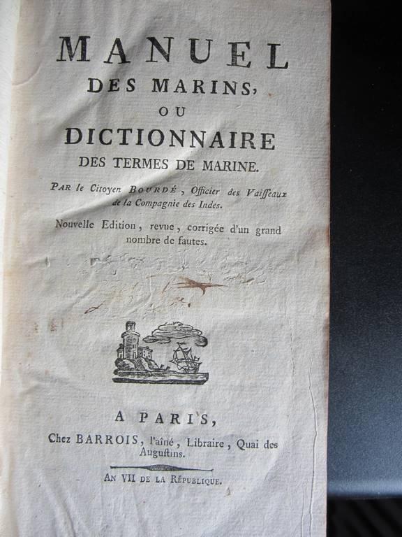 """""""Officiers-majors"""" sous Louis XVI : les officiers de l'état-major du navire 648041IMG2068Copier"""