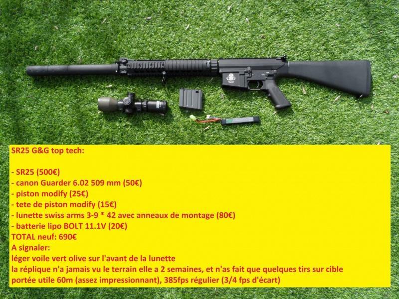 SR52 G&G top tech, MP5 H&K A4, Glock 33 we 6480891106543210206331996367005347982767o