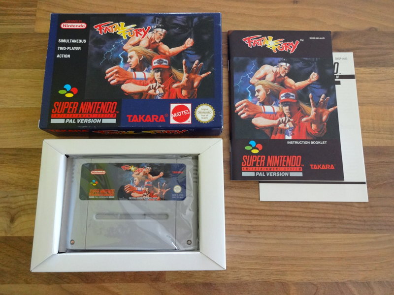 Prupru's Collection ! 100% Super Nintendo et 200% Super Comboy !! - Page 18 648207FatalFuryAUS