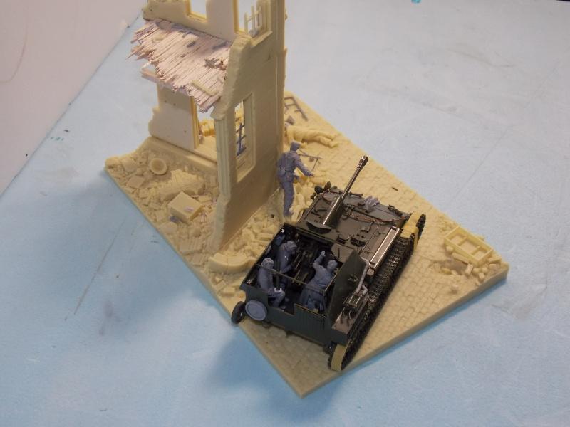 SU 76 M Tamiya et ruine Verlinden 1/35 - Page 2 648394DSCN4332