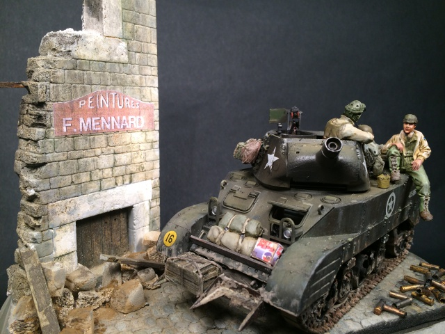 """""""Le laxatif"""" - M8 Howitzer unité """"Hell on Wheels"""" - 2nd Armored division, Normandie - Tamiya 1/35 648623IMG3484"""