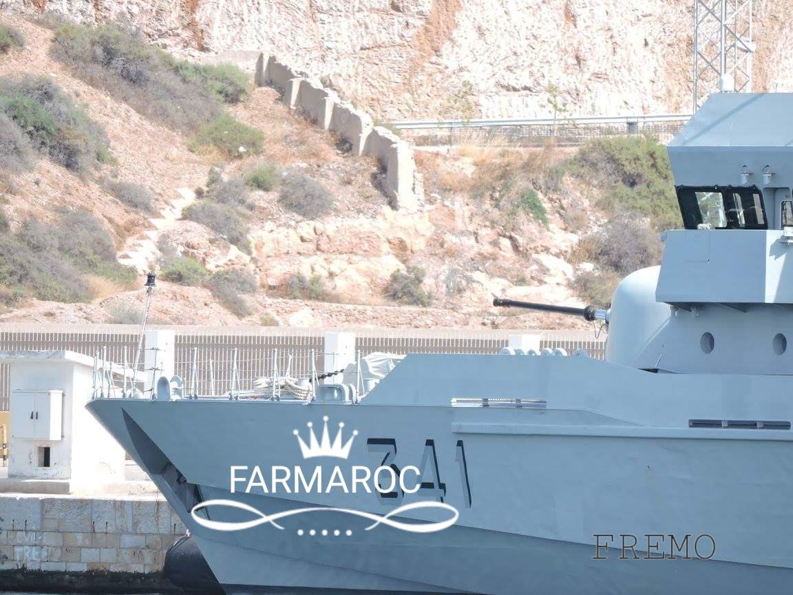 Royal Moroccan Navy OPV-70 / Classe Bir Anzarane - Page 5 64898320180105091313