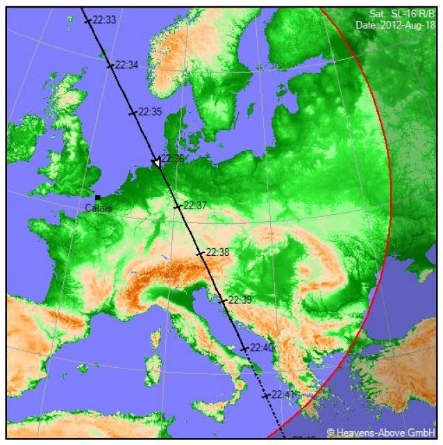 2012: le 18/08 à 22h30 - Lumière étrange dans le ciel  - Calais (62)  649278yoh442715