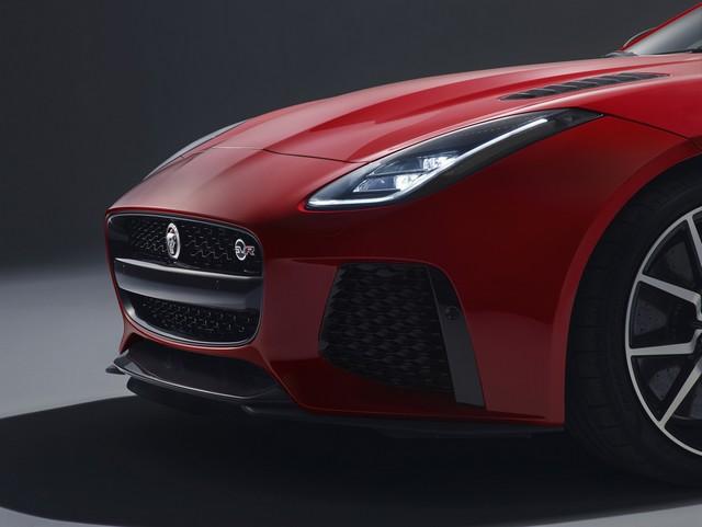 Lancement De La Nouvelle Jaguar F-TYPE Dotée De La Technologie GOPRO En Première Mondiale 650004jaguarftype18mysvrcoupestudioexteriordetail10011701
