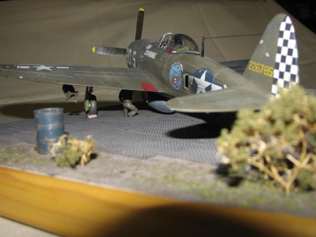 Restauration P-47 Lt Raymond Knight 1/48 Monogram  650498IMG6074