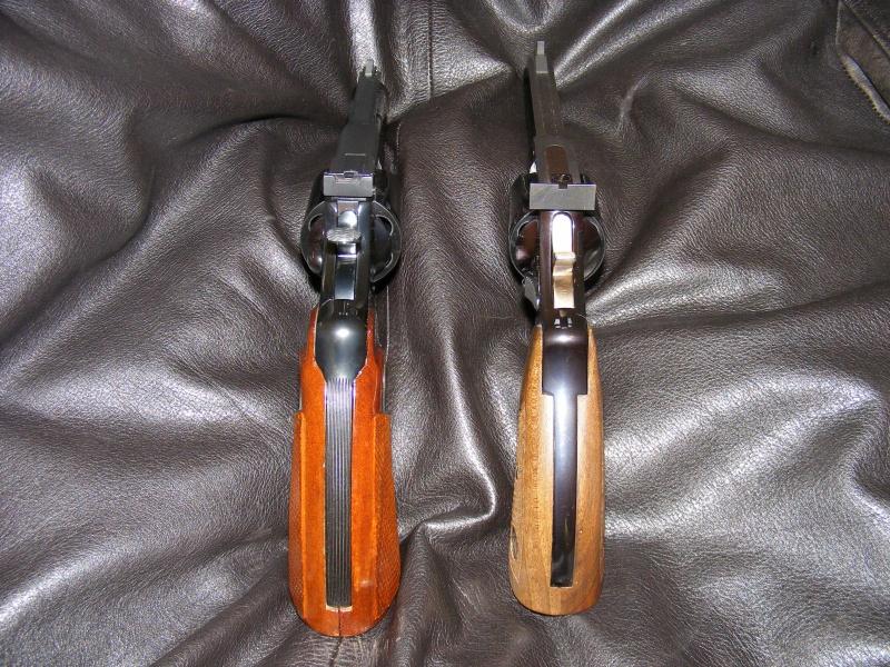 Le duel Colt Python VS Manurhin MR73 6510905205