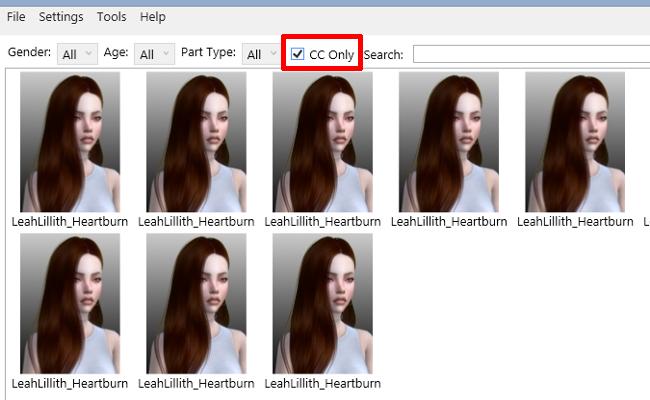 [Débutant] Effectuer une recoloration sans inclure le mesh 651104403