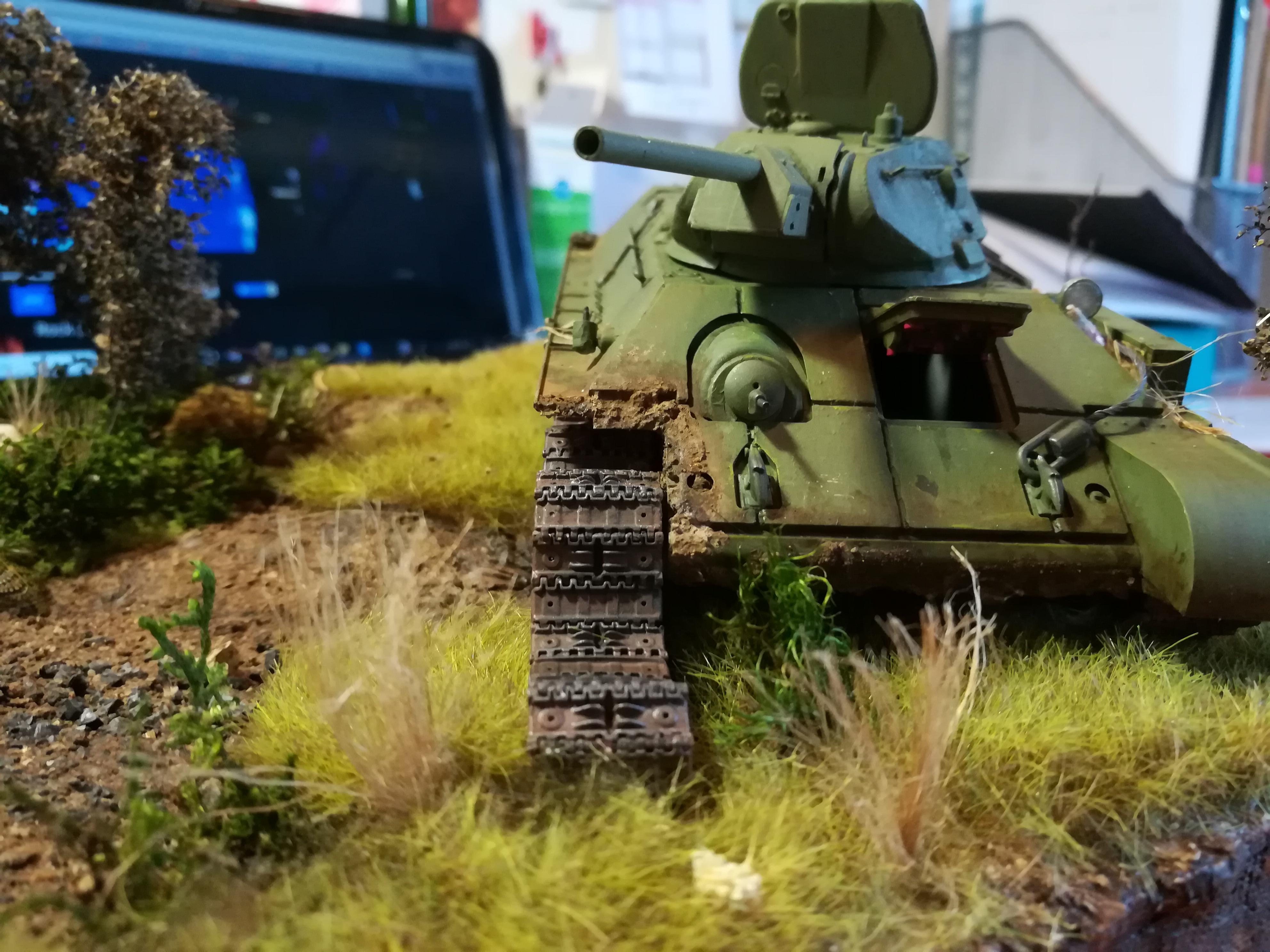 Front de l'Est, 1942 - T34 et Wehrmacht - Zvezda - 1/35 - Page 2 652913IMG20171208143325