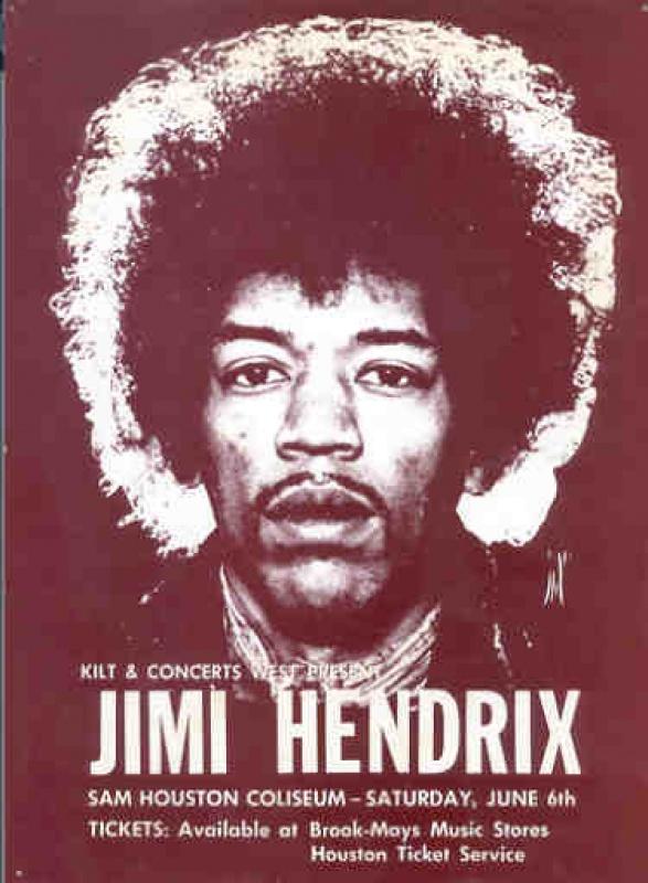 Houston (Sam Houston Coliseum) : 6 juin 1970 653208hendrix