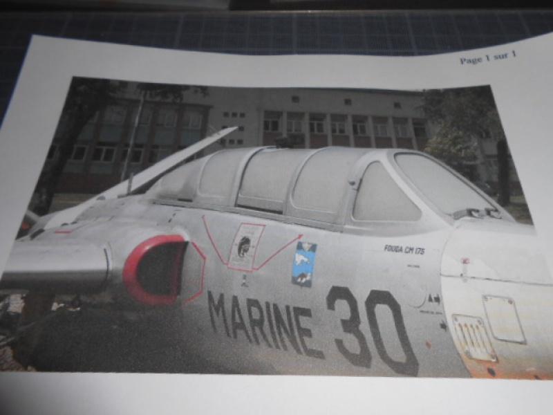 Fouga Magister 1/48 Kinetic lionel 45 653356fo002