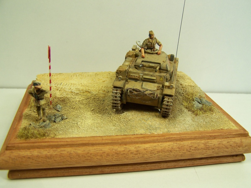 Panzer 2 aus F  Cyrénaique 1941 6536421005386