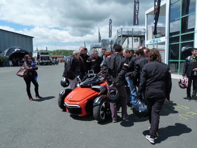 CR & Photos : TSO 17/05/15 : Essai du Can Am SPYDER F3-S et du RT-Limited 654026P1170656