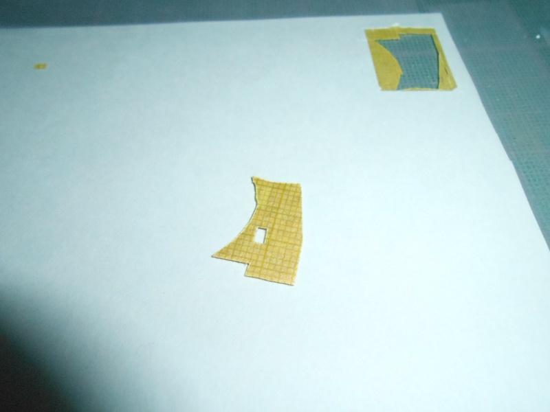 NAGATO Hasegawa 1/350- PE- Ponts en bois - Page 2 655909DSCN6492