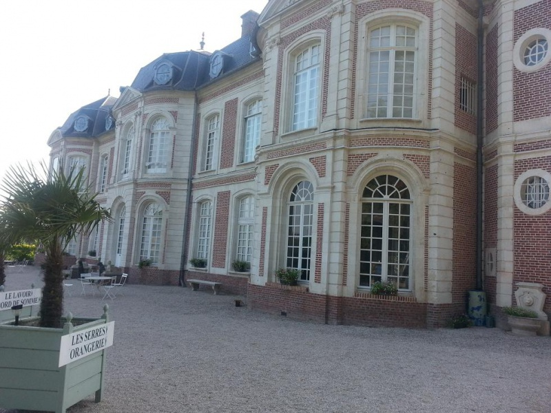 visitez le chateau de Long (basse vallée de Somme) 655954Long1
