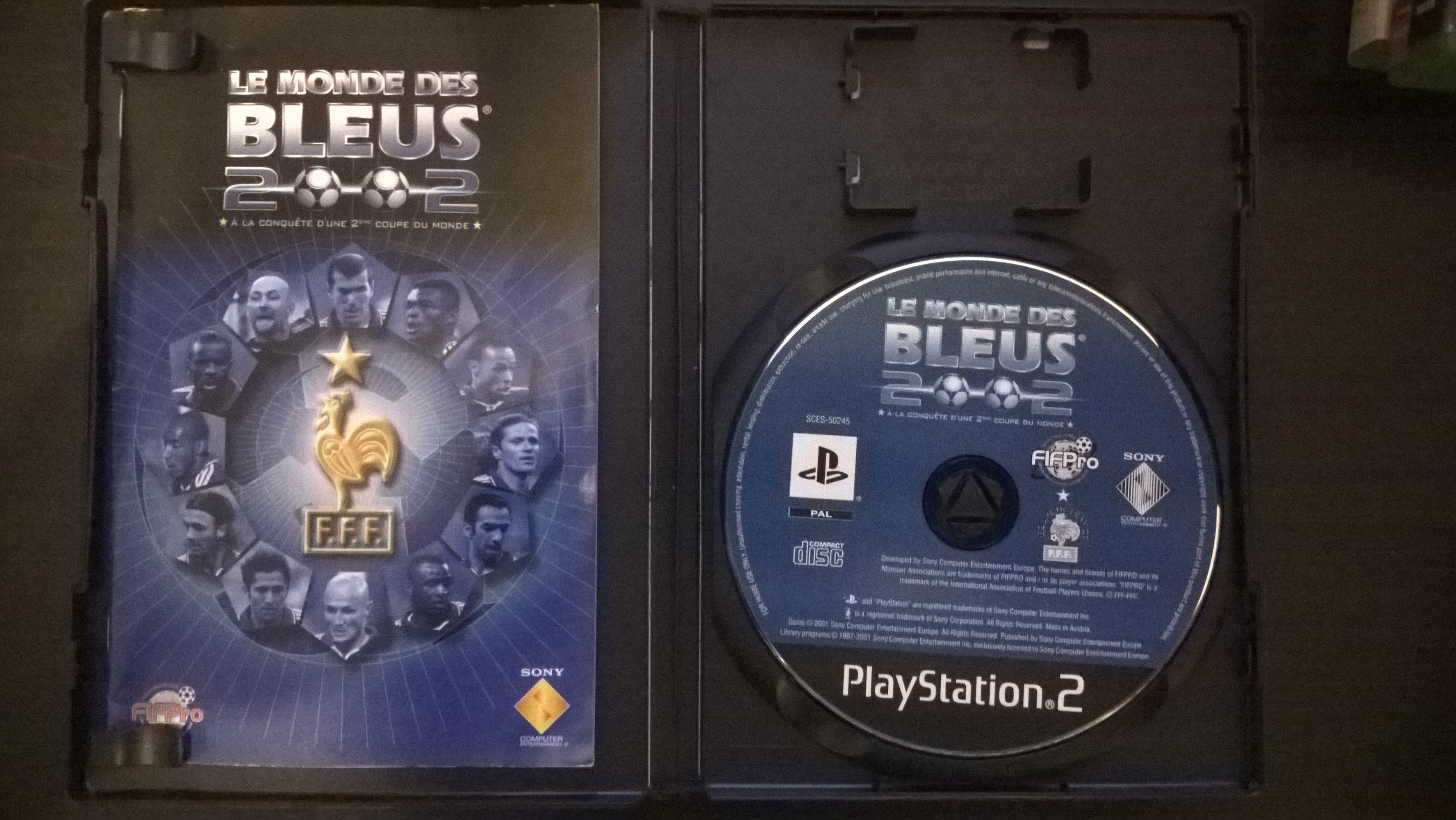 "demande info sur jeux ps2 : ""for display purposes only"" 656189WP20150309011"