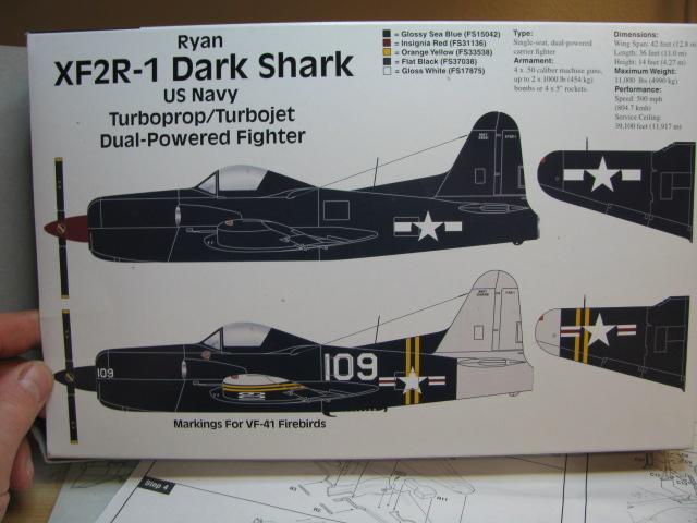 Ryan XF2R-1 Dark Shark Czech Model 1/48.....Terminé! 656922IMG8397