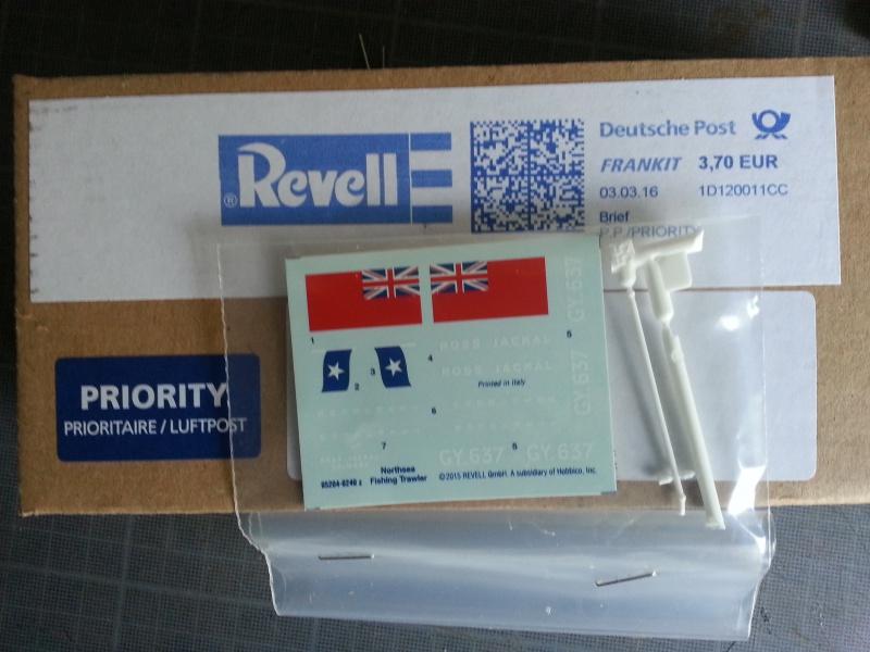 NorthSea Fishing Trawller de Revell au 1/142° - Page 3 65742120160308165553