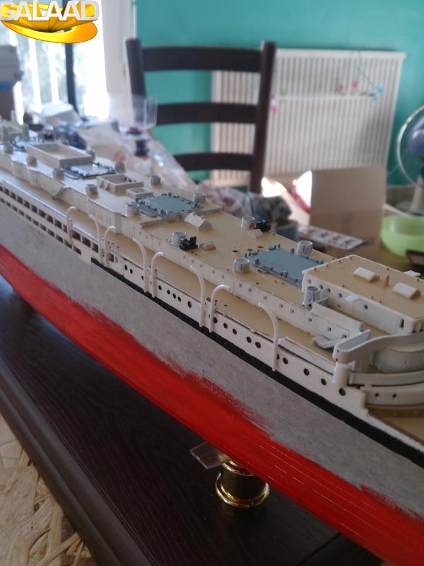 R.M.S Lusitania (Cunard)    1/350 de chez Mr HOBBY 6575588554