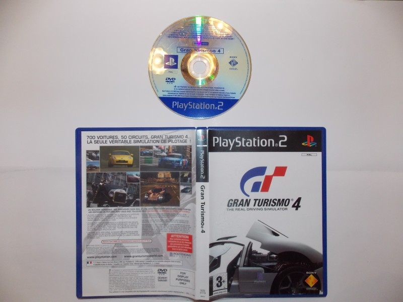Gran Turismo 4 661760Playstation2GranTurismo4Blue