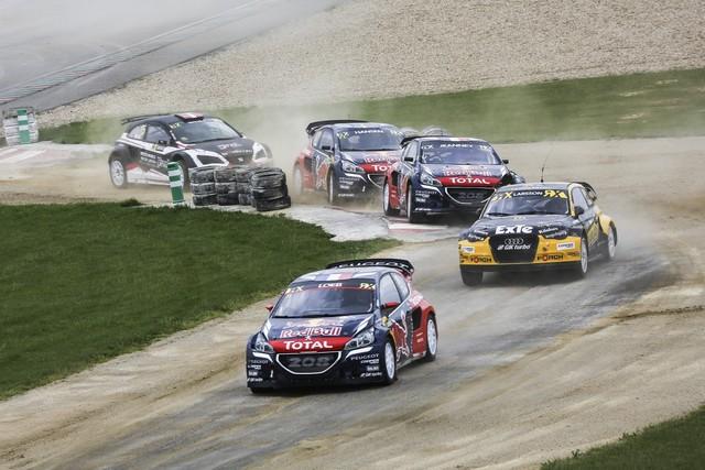 Rallycross - Belle deuxième place de Sébastien Loeb sur la PEUGEOT 208 WRX 662896HR8A4178