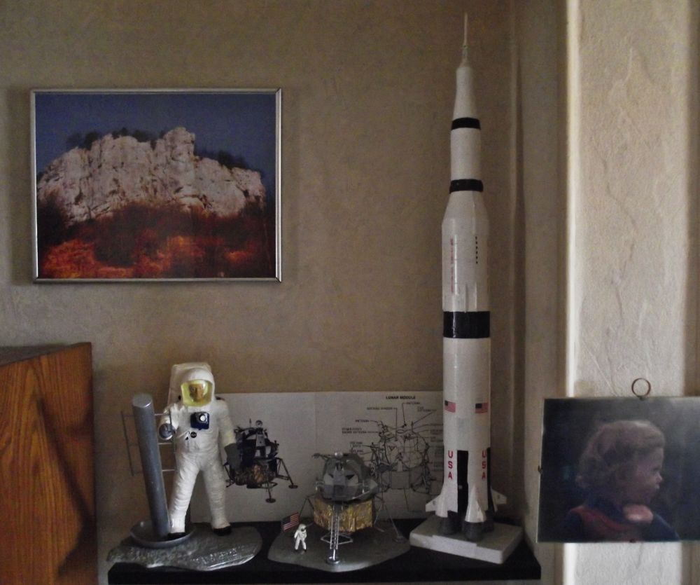 Module lunaire 1/48, Amstrong 1/8 Saturn 5B 1/144 Revell 664752espace
