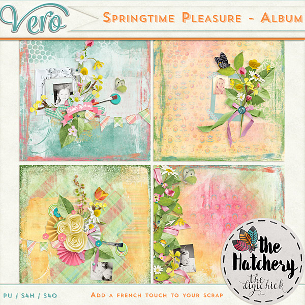Véro - MAJ 02/03/17 - Spring has sprung ...  - $1 per pack  - Page 10 666624Verospringtimepleasurealbumpv