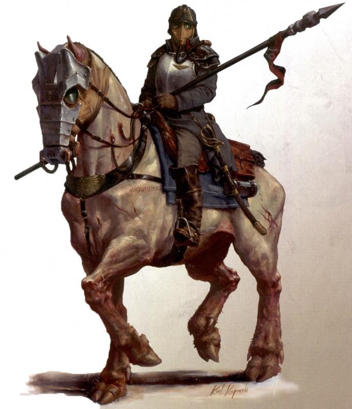 [W40K] Collection d'images : La Garde Impériale 667302DeathRiderofKrieg