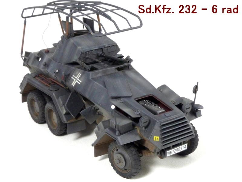 Sd.Kfz. 232 6 Rad - France 1940 - Italeri 1/35 667319P1040092