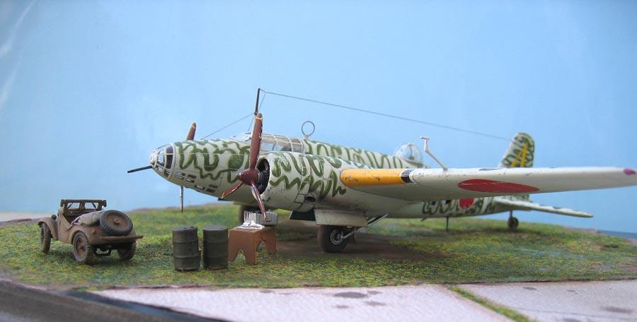 """[MPM] - Mitsubishi Ki 21 IIB """"Sally"""". 668519Ki21122"""