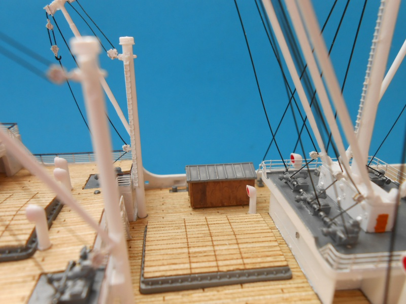 Hikawa Maru Hopital 1/350 pont/PE/babioles Hasegawa 669213DSCN6156