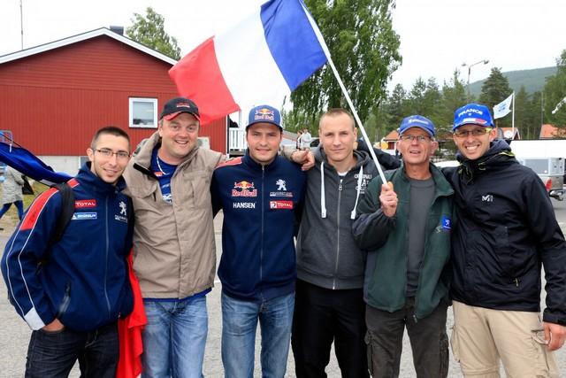 Les PEUGEOT 208 WRX enflamment la Suède - 2ème et 3ème en World RX et victoire en EURO RX 669385wrx201607010067