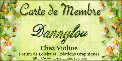 Carte de membre 669838Dannylou