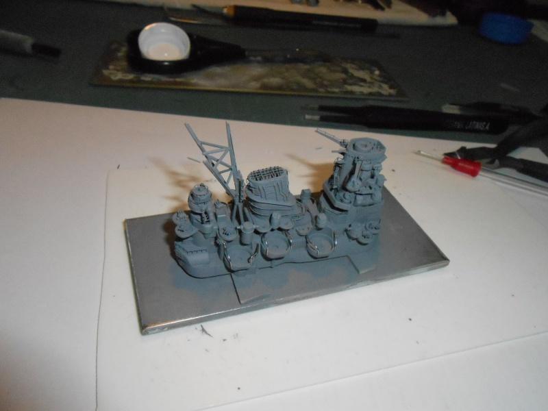 Yamato 1/700 fuji, PE,Pont en bois et babioles - Page 3 670575DSCN5405