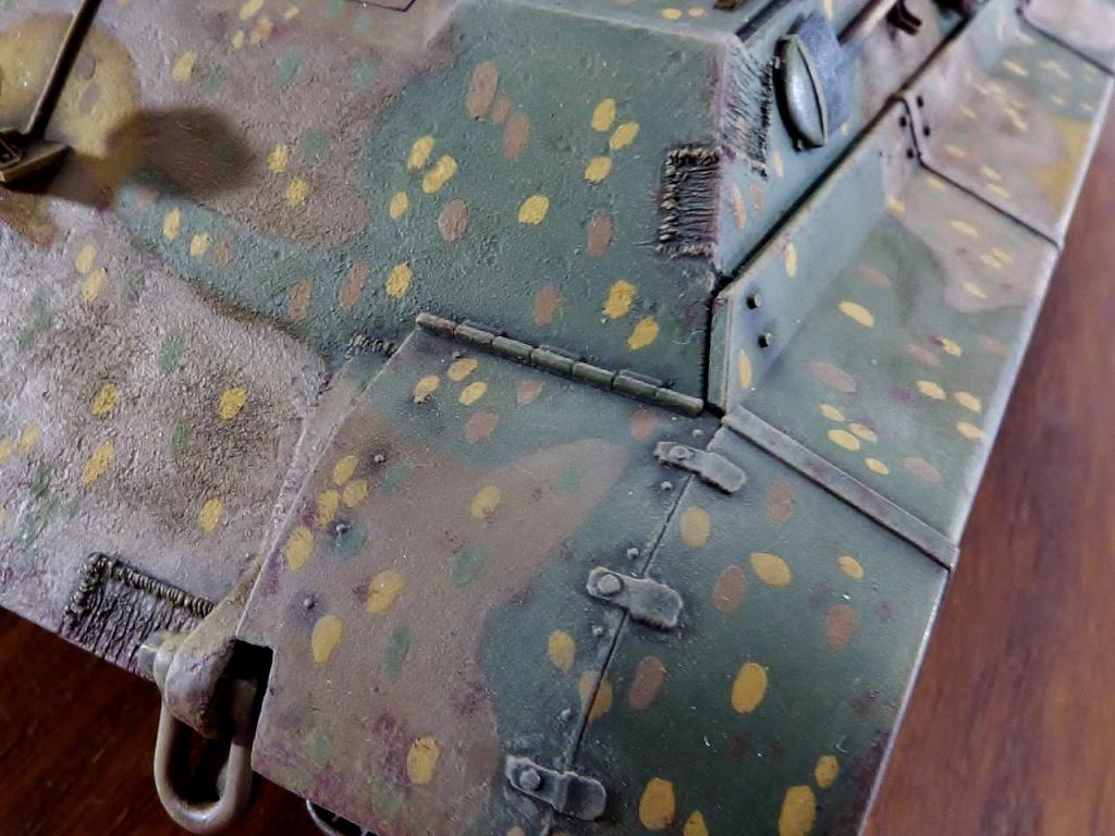 tiger - King Tiger Sd.Kfz.182 Henschel Turret Takom 1/35 671641P1060495Copier