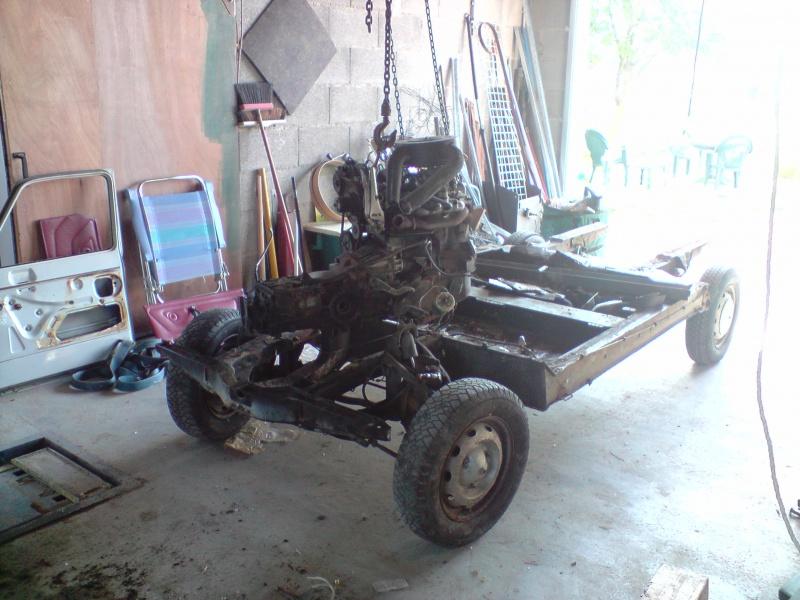 Ma restauration Renault Rodéo 6 671694P240509182301
