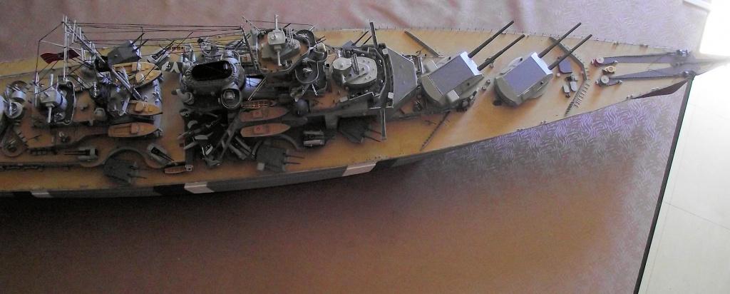 Bismarck Trumpeter 1x200 avec PE et figurines Eduard 672430Bismarck1x200162