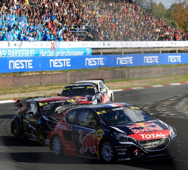 Rallycross - Sébastien Loeb remporte sa première victoire au volant de la PEUGEOT 208 WRX ! 67283657efe99d89361